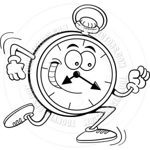 clock running